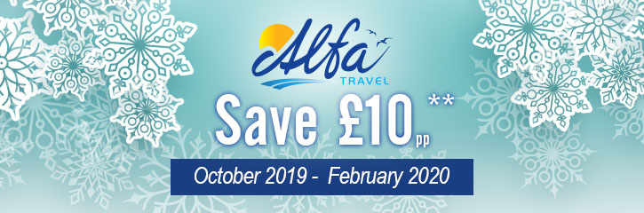 Alfa Travel - £10 offer - Special Offers