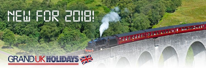 Grand UK Rail holidays! - New for 2018