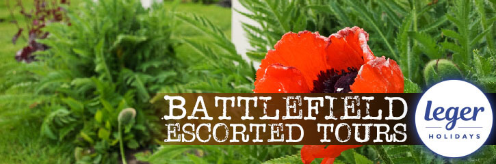 Leger Holidays - Battlefield Tours - Escorted Touring