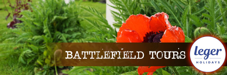 Leger Holidays Battlefield Tours for 2020