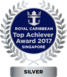Royal Caribbean Top Achiever Award 2017 Singapore