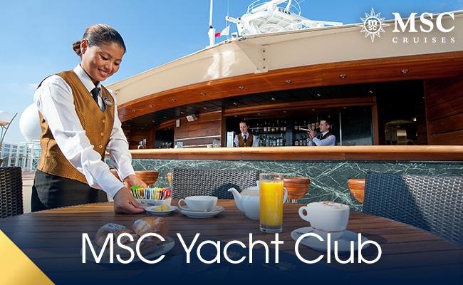 MSC Cruises Yacht Club