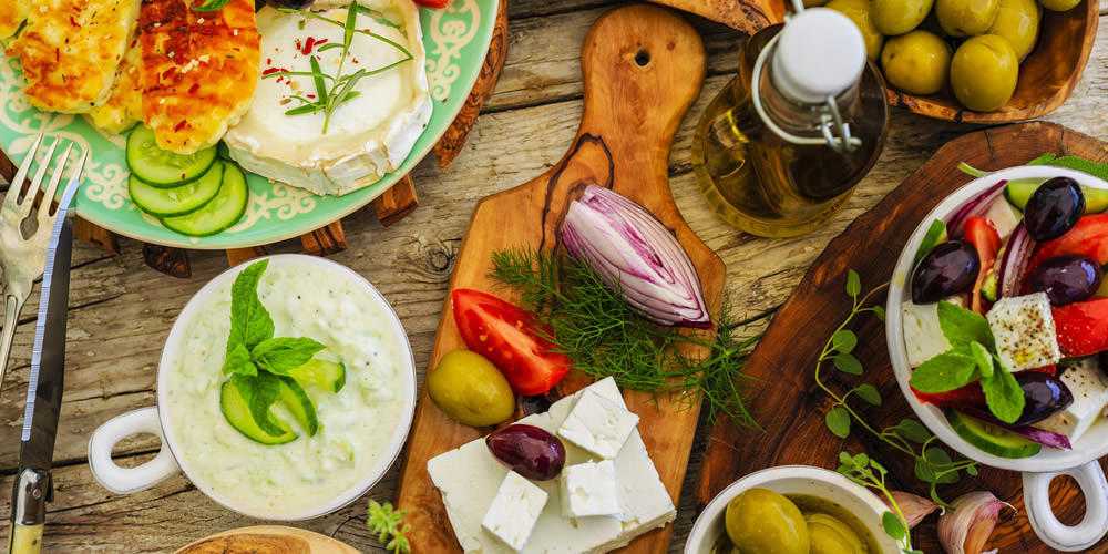 Cuisine in Greece