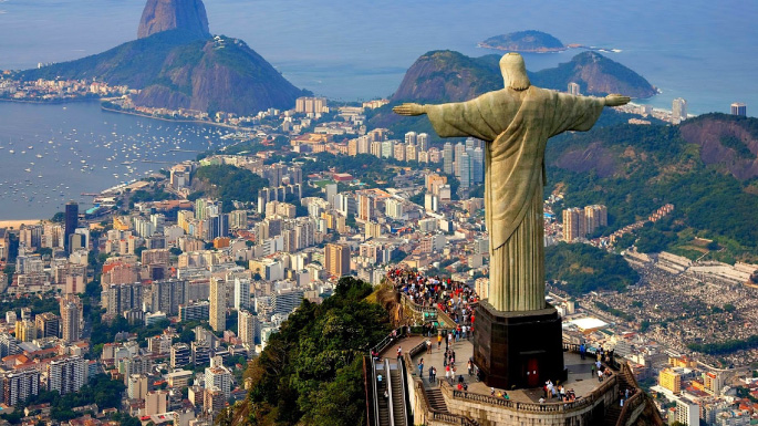 South American cruises; Christ The Redeemer
