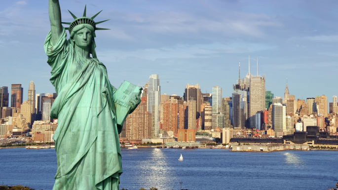 Transatlantic Cruises; Statue of Liberty