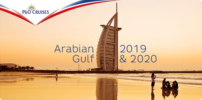 P&O Cruises - Oceana - Arabian Gulf 2019/20
