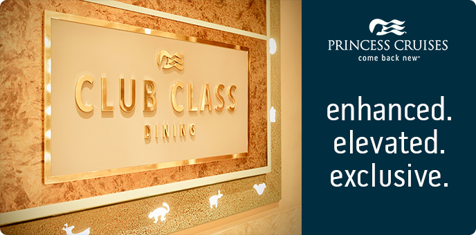 Princess Cruises - Introducing... Club Class