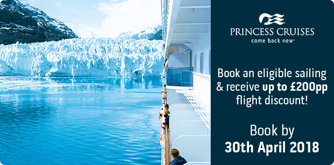 Princess Cruises Alaska Flight Discount