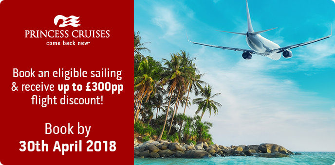 Princess Cruises Flight Discount