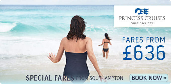 Princess Cruises - No Fly Special Offer