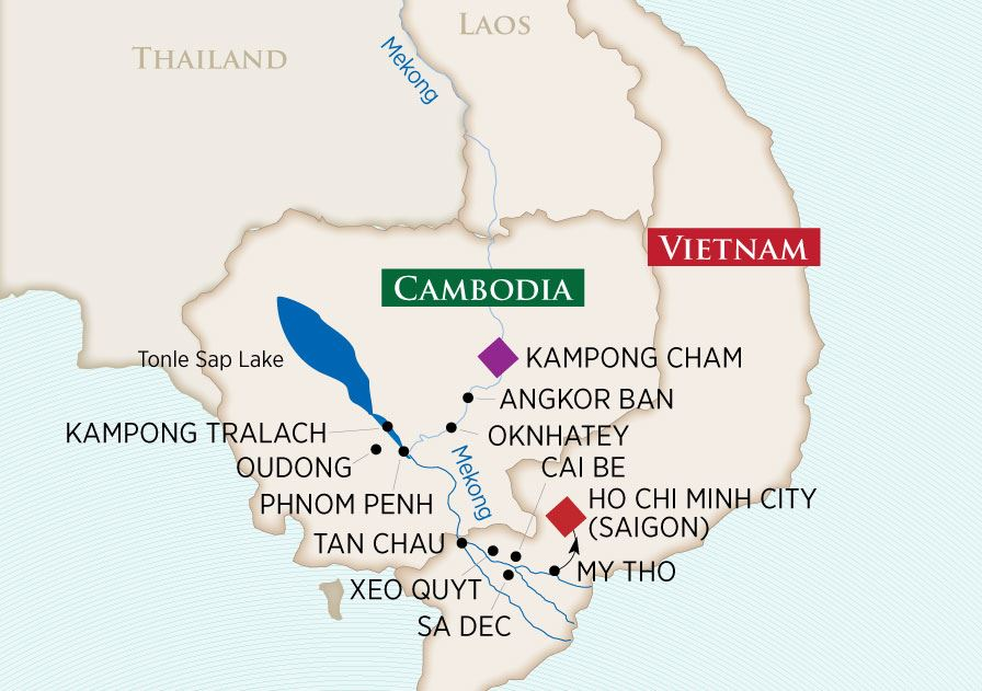 Riches of the Mekong Map