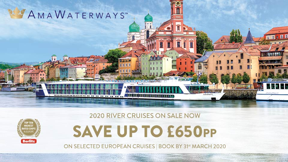 AmaWaterways 2020 River Cruises