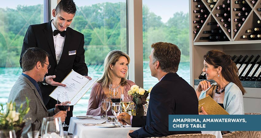 AmaWaterways Chefs Table