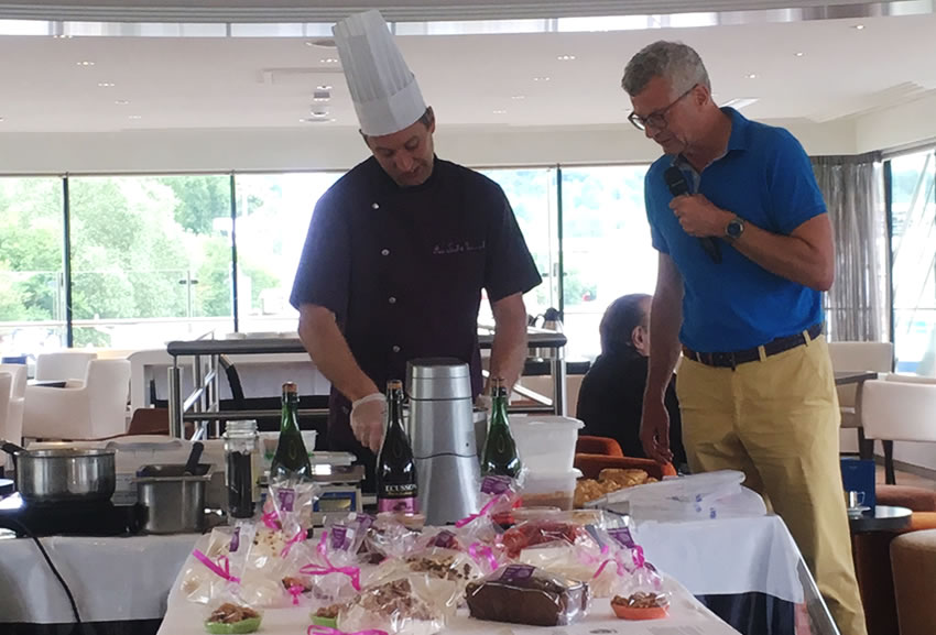 Avalon Waterways Cooking Demonstration