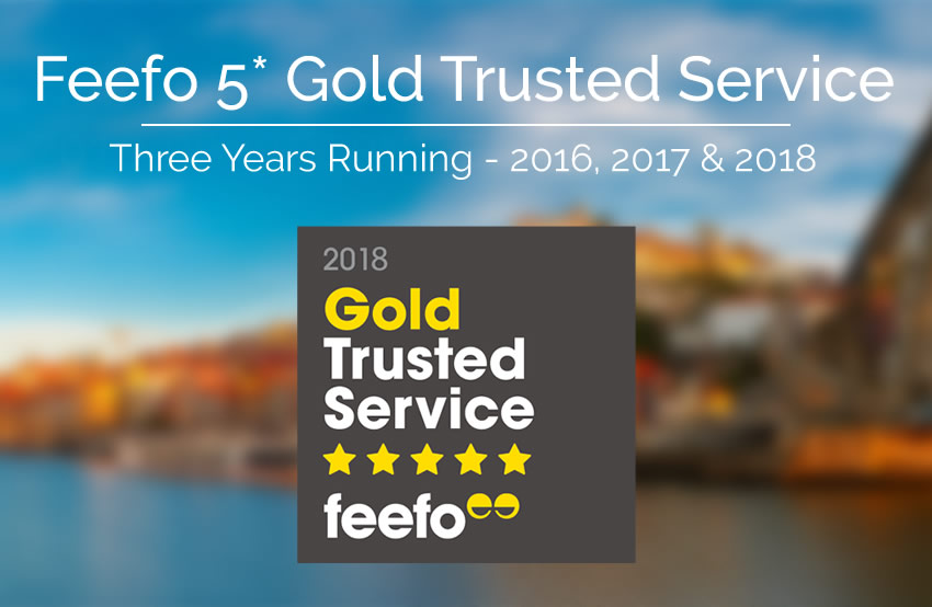 Feefo Gold Badge