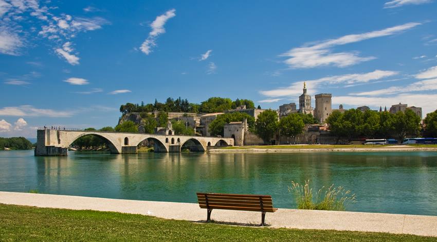 Avignon Rhone River