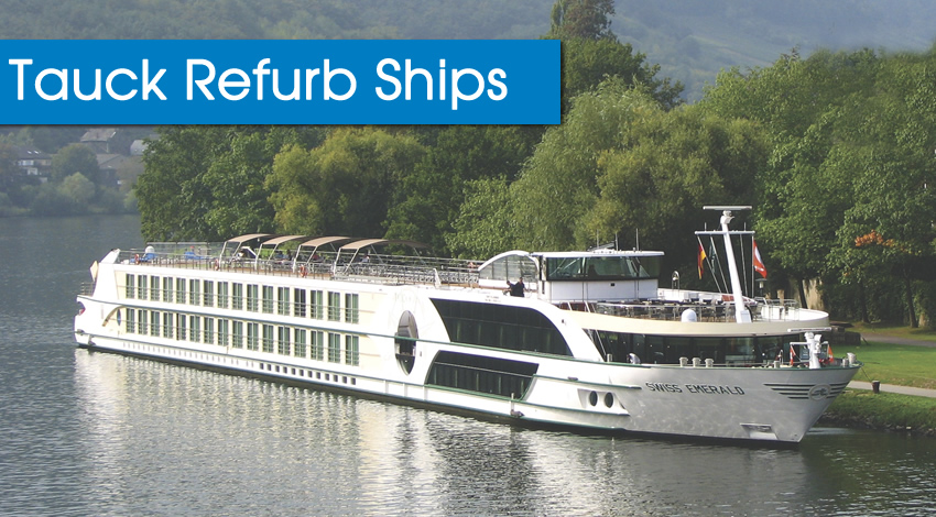 Tauck Luxury River Cruise