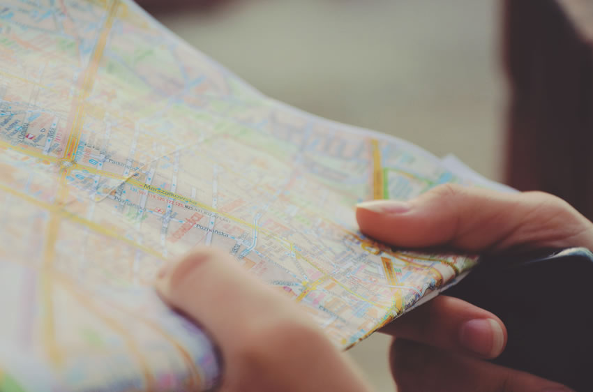 Holding Map