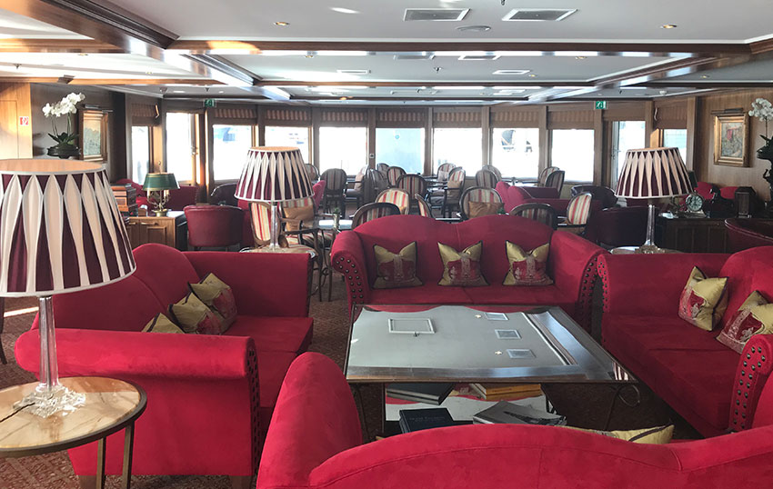Uniworld River Royale Lounge Area