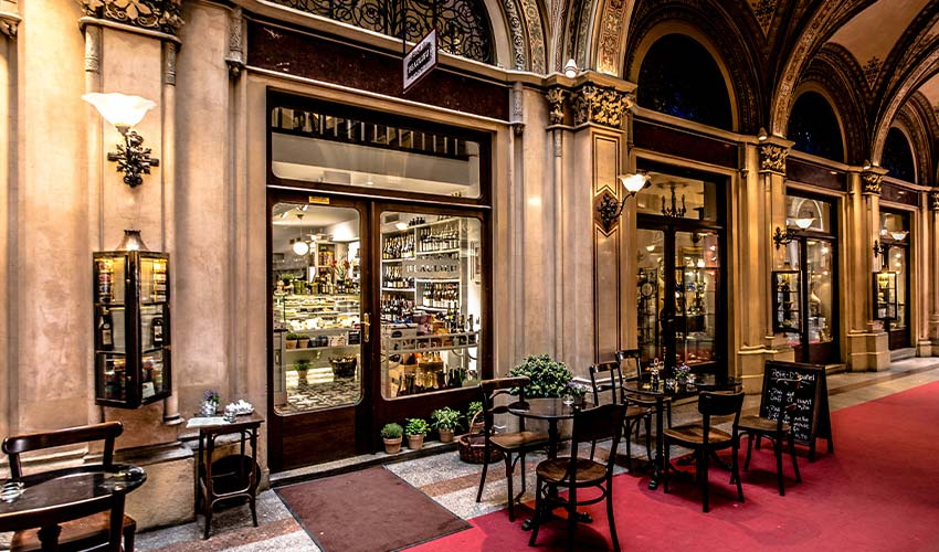 Cafe in Vienna