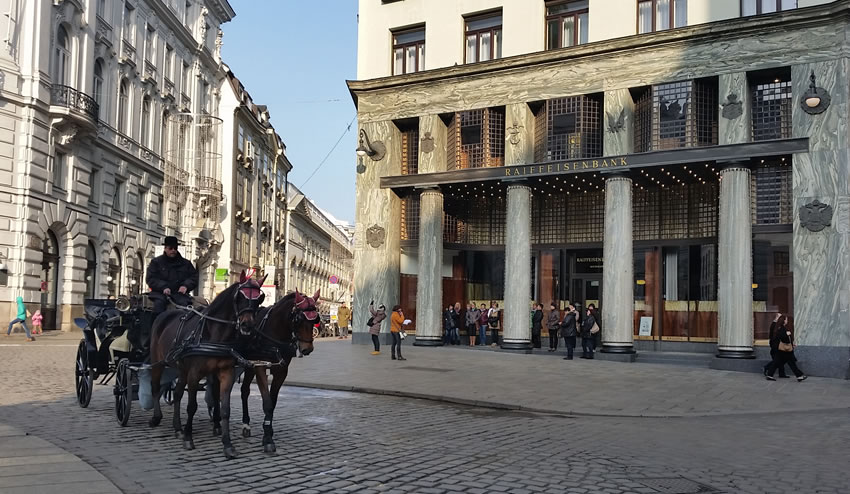 Vienna Horse and Cart