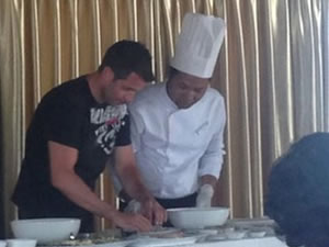 APT Cookery Cruise