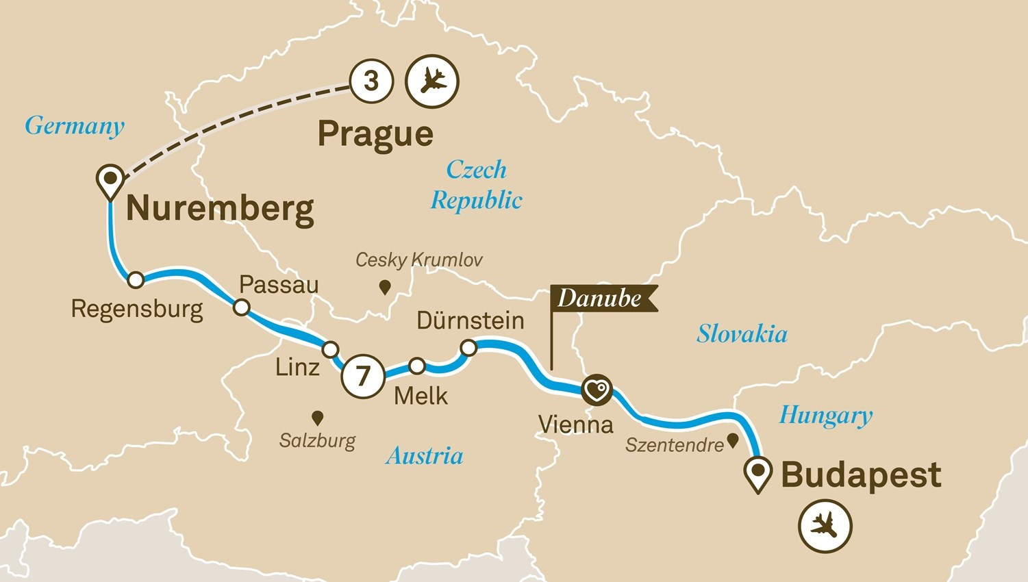 Danube Christmas Markets With Prague Scenic 2020 River Cruise