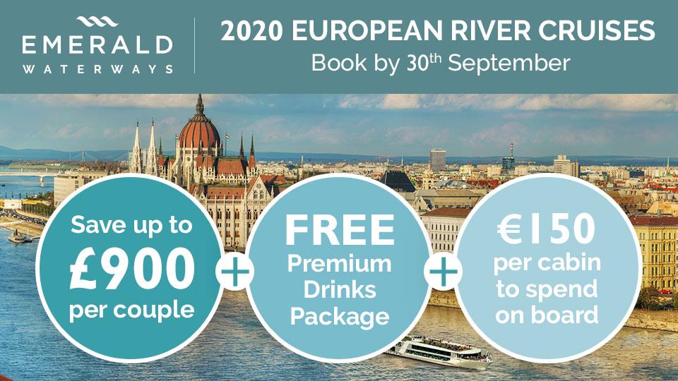 Emerald Waterways 2020 River Cruise Offers