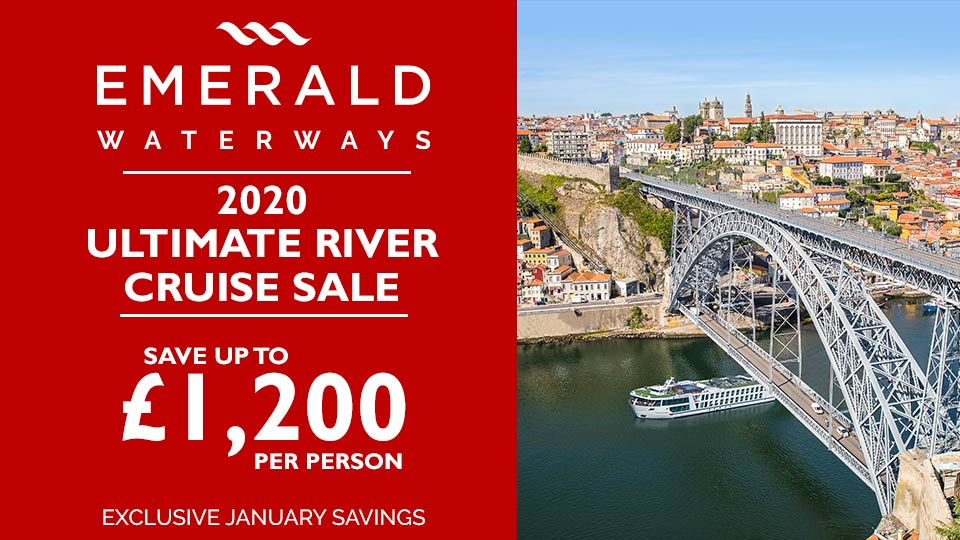 Emerald Waterways Ultimate January Sale
