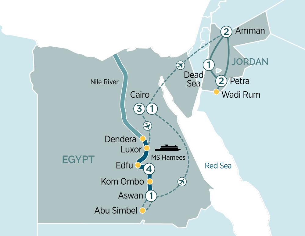 Egypt 2019 Map