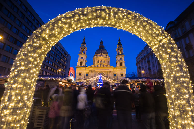 Budapest at Christmas