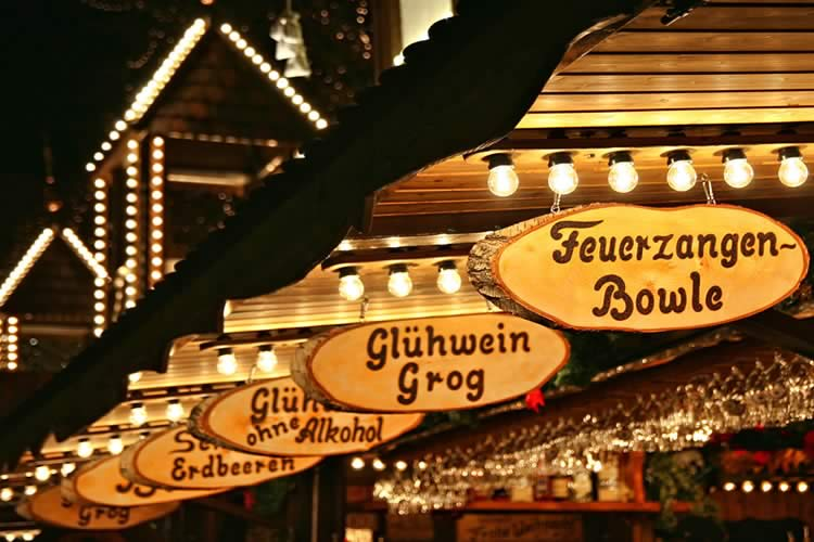 Christmas Markets Signs