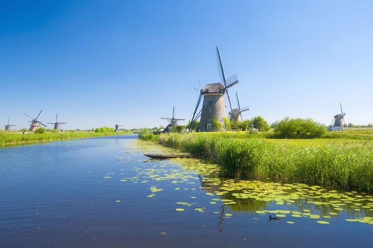 Kinderdijk & Windmill