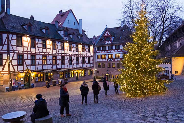 Nuremberg Christmas Market.Uniworld Classic Christmas Markets 2019 River Cruise