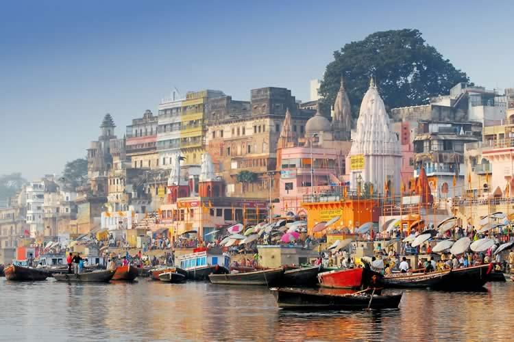 Varanasi Ganges India