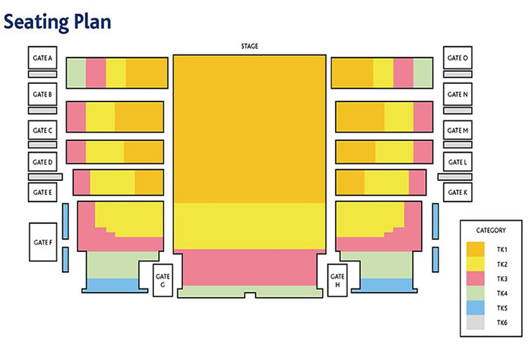 Oberammergau Seating Plan