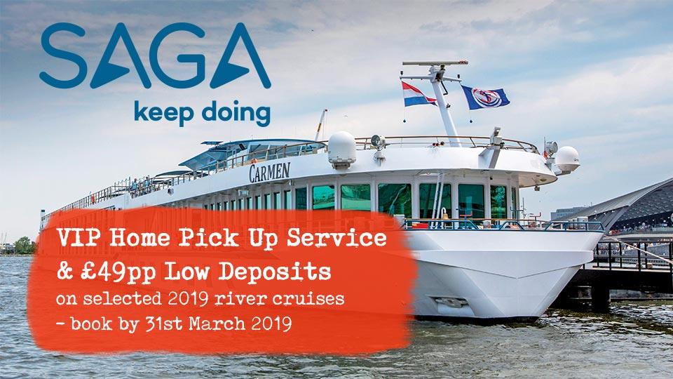 Saga River Cruise Offers