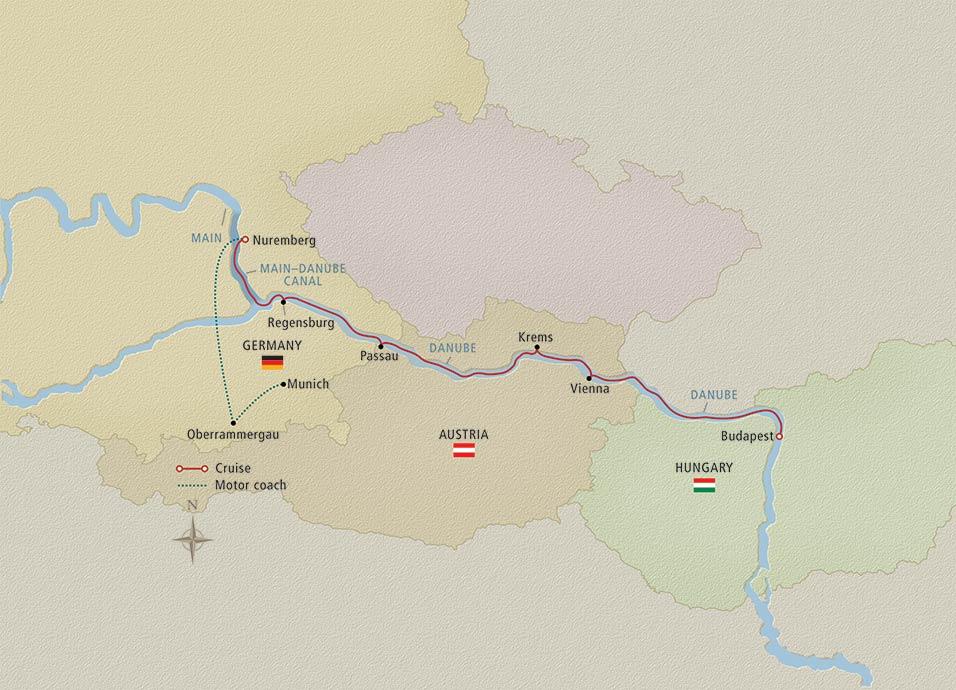 viking oberammergau map