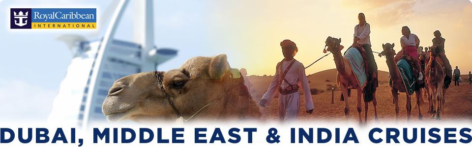Dubai, Middle East & India Cruises 2015