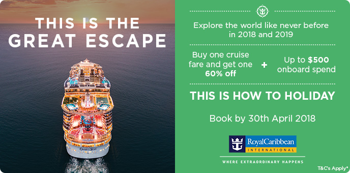 Royal Caribbean - This Is Going For It