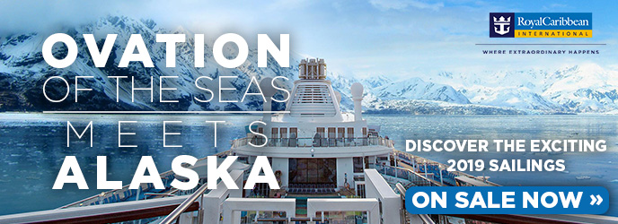 Royal Caribbean - Ovation of the Seas - Alaska Cruises
