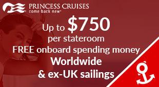 Princess Cruises from Southampton
