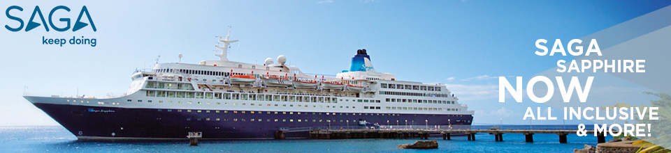Saga Cruises - Saga Sapphire All Inclusive Now On Sale
