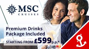 MSC Cruises from Southampton 2018
