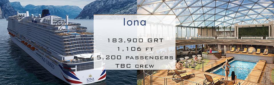 P&O Cruises Ship Iona