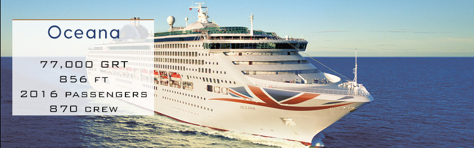 P&O Cruises Ship Oceana