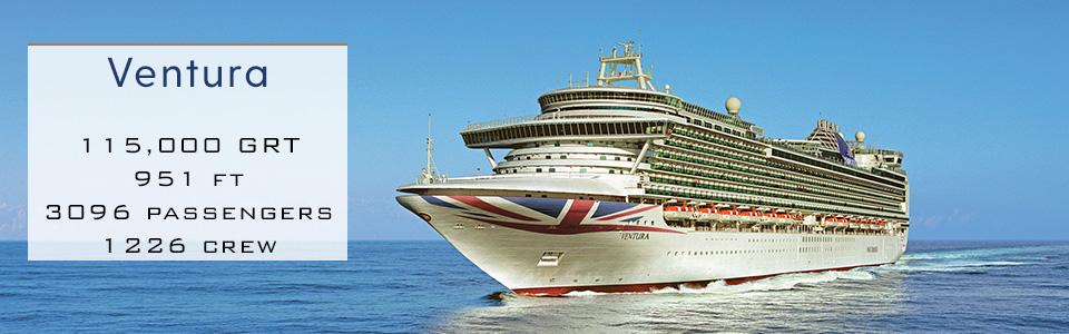 P&O Cruises Ship Ventura