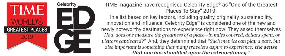 Celebrity Edge TIME Magazine