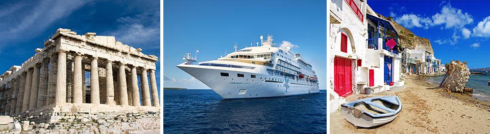 Athens & Idyllic Aegean - Cruise & Stay