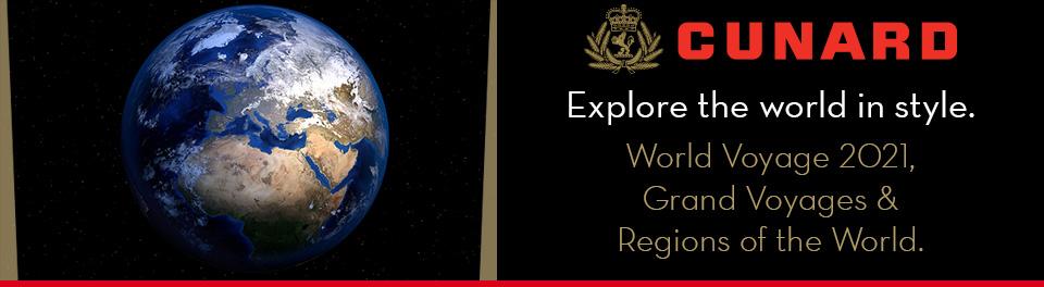 Cunard - World Voyage 2021
